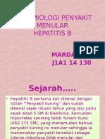 EPIDEMIOLOGI PENYAKIT MENULAR