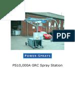 Ps10000a Grc Spray Station for Grc