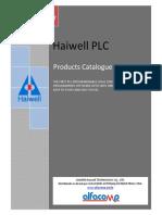Haiwell - Catálogo Geral de CLPs