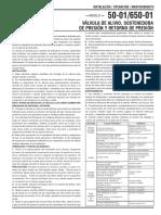 Valvula de Alivio Sostenedora y Retorno de Presion CLA-VAL