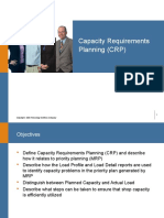 8 Capacity Requirements Planning