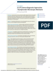 Cost Effectiveness of Common Diagnostic Approaches for Evaluation of Asymptomatic Microscopic Hematuria