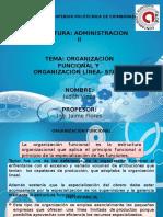3.1.1 Organizacion Funcional
