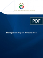 FIGC 2015 Management Report