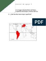 Materiales de apoyo Planisferio Peters