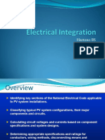 Electrical Integration