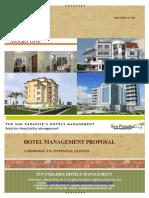 Proposal Hotel Management