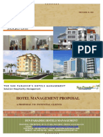 Proposal Hotel Management