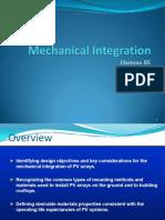Mechanical Integration