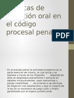 Técnicas de Litigación Oral en El Código Procesal Penal