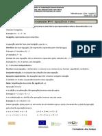 11 - Ficha Equações EFA B3