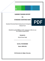 Summer Training Report on Standard Chartered Bank