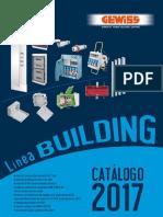 201701 Gewiss Catálogo Building 2017