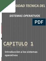 Introduccion a los sitemas operativoos