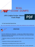 Get Valid AWS Certified SysOps Administrator Dumps - AWS SysOps Braindumps RealExa