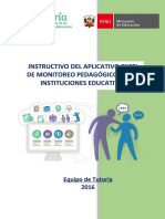 PDF Aplicativo de Monitoreo Pedagógico de Tutoría