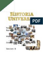 Caratula Historia