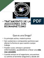 Tratamiento de Las Adicciones Con Biomagnetismo