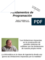 Fundamentos de Programacion -1