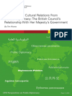 Distinguishing Cultural Relations From Cultural Diplomacy  2015