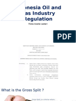 Indonesia Oil and Gas Industry Regulation