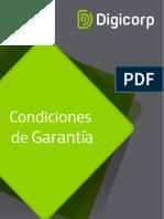 Condiciones de Garantia