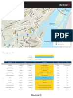 Carte des travaux à Montréal en 2017