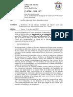 Informe de Aguas 2017