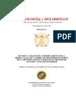 Estudio y Analisis Del Comportamiento de La Piedra Caliza de La Sierra