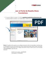 Como Ingresar a Rosetta Stone Foundations - UAP