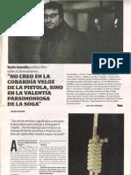 Entrevista al Poeta Yanko González semanario The Clinic 10 octubre 2011