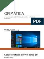 1) Ofimática. Windows, Carpetas, Escritorio y Tareas Comunes