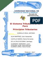 Grupo 1 Sistema Tributario en El Peru y Los Principios Tributarios.