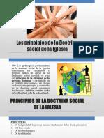 Principios de La Doctrina Social de La Iglesia Católica