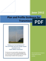 Plan and Profile Guidance 06142012