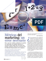 Metricas Del Marketing Un Error Necesario