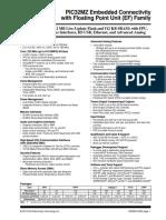 PIC32MZ datasheet