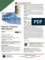 Free Crochet Pattern - Squares 'n Squares Baby Blanket LW2204