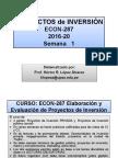 Inversion Para Ingeniería Civil