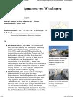 Liste Der Straßennamen Von Wien_Innere Stadt – Wikipedia