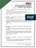 Direito Previdenciáro - Exercícios IX
