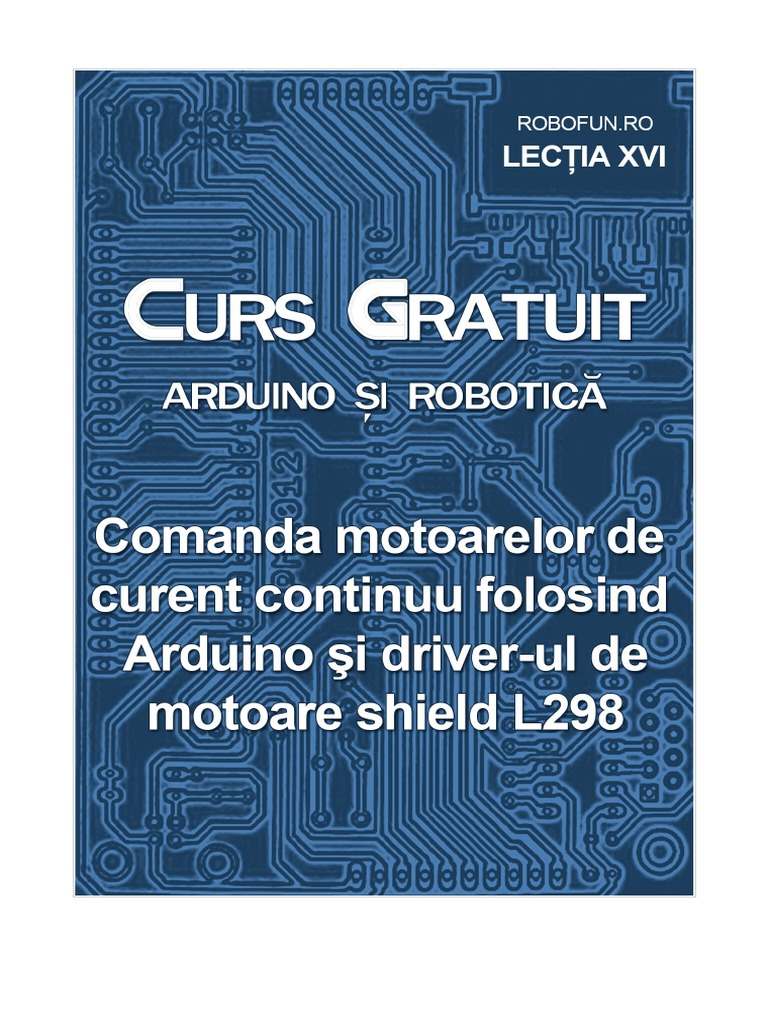 Drivermotoarel arduino pdf