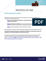 Autorizacion Electronica de Viaje