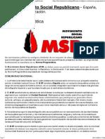 Norma Programática _ MSR_Movimiento Social Republicano