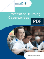 Nurse Practice Development Nursing Prospectus