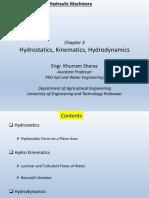 03-Hydrostatics Hydrokinematics Hydrodynamics