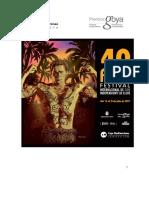 40th Elche International Independent Film Festival. FAQ. Upload Video