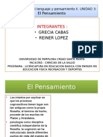EXPOSICION Comunicación Del Lenguaje y Pensamiento II