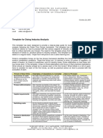 Template for Industry Analysis.pdf