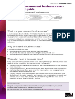 Guide to Creating a Business Case